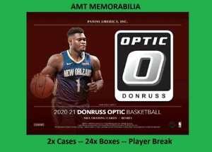Kristaps Porzingis Mavericks 2020/21 Donruss Optic 2X Case 24X BOX BREAK #3