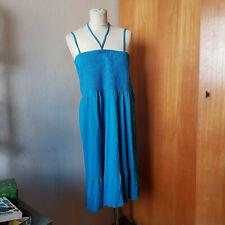 3-in-1 Kleid von Blue Motion, 44/46, türkisblau - Jerseykleid und Rock in Einem!