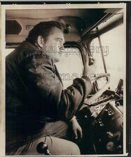 1973 Truck Driver Lloyd Monster Man Wittman of Springdale Arkansas Press Photo