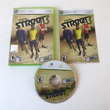 FIFA STREET 3 (Microsoft Xbox 360, 2008) COMPLETE w/ Manual! TESTED! WORKS!