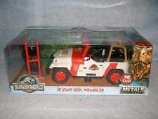 Jurassic Park Staff Jeep Wrangler World Die Cast Metals Jada Toys 2017 New