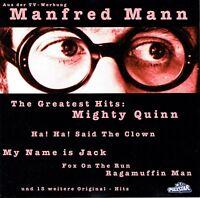 (CD) Manfred Mann - The Greatest Hits - Mighty Quinn, Ha! Ha! Said The Clown
