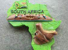 Südafrika Reiseandenken Souvenir 3D Polyresin Kühlschrankmagnet Nilpferd Magnet