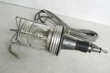 OLD HAND LAMP VULCANO 40/60W INDUSTRIAL DESIGN ITALY '60 REPAIR CAR FERRARI