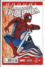 AMAZING SPIDER-MAN ANNUAL # 1 (FIRST PRINT, FEB 2015), NM/M NEW