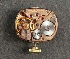 OMEGA 17 JEWELS WRIST WATCH LADIES MECHANICAL HAND WINDING MOVEMENT # MM696