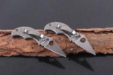 EDC Spyderc Mini knife Wave pattern Folding Knife Outdoor survival OEM