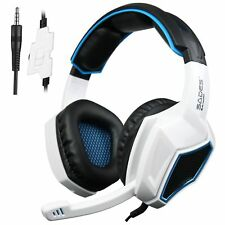 Sades SA-920 Gaming Headset  Microphone Headphone For PS4 XBOX 360 PC White