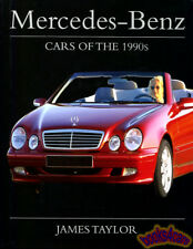 MERCEDES BOOK TAYLOR CARS OF THE 1990's JAMES BENZ 90's HISTORY