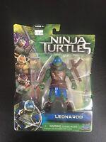 Teenage Mutant Ninja Turtles Leonardo Figure Unopened 2014 TMNT Movie Playmates