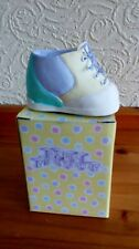 Born Yesterday Small Baby Shoe Money box (Boxed)