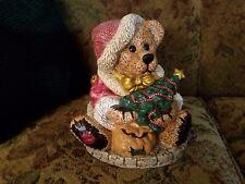 Vintage Boyds Bearware Pottery Grenville The Santa Bear 1998 Cookie Jar 2E/2220