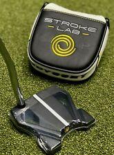 "Odyssey Stroke Lab Black #10 Ten Putter 33"" w/ Pistol Grip + Cover NEW #81754"