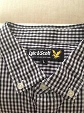 Lyle and Scott Mens Shirt Size Large
