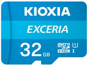 TOSHIBA KIOXIA 32GB Micro SD Card 100MB/s Class 10