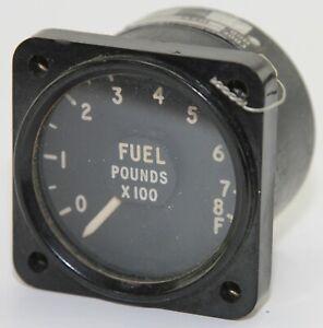 Fuel quantity gauge reading to 800lb for RAF aircraft (GD2)