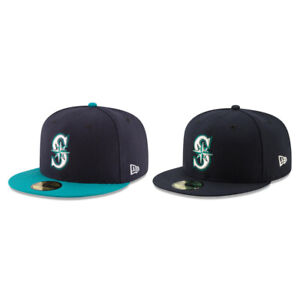 Seattle Mariners SEA MLB Authentic New Era 59FIFTY Fitted Cap - 5950 Hat