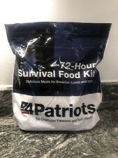 4Patriots 72-Hour Survival Food Kit (Breakfast, Lunch, & Dinner) NEW!