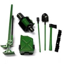 1/10 Scale Rc Rock Crawler Verde Accesorio Herramientas-Traxxas TRX-4 D90 D110 SCX10