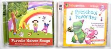 (Set of 2) Preschool Favorites Nursery Rhymes & Favorite Nature Songs CD >NEW<