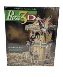 Vintage Puzz 3D Swallow Inn 3d jigsaw puzzle - Sealed-