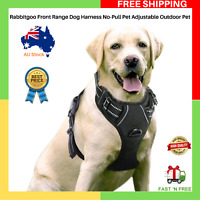 NEW Rabbitgoo Front Range Dog Harness No-Pull Adjustable Outdoor Pet Large Size