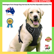 NEW Rabbitgoo Front Range Dog Harness No-Pull Adjustable Outdoor Pet Large Size