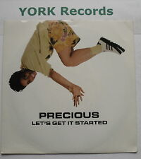 """PRECIOUS - Let's Get It Started - Excellent Condition 7"""" Single MCA 1416"""