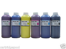 6 Pint refill UV pigment ink for HP 83 DesignJet 5000 Series 5000 UV 5000ps UV
