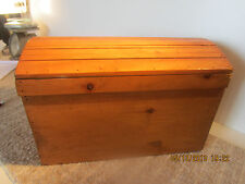 Nautical Decor, Pirate'S Wooden Stowage Trunk