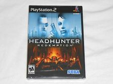 NEW Headhunter Redemption Playstation 2 Game PS2 SEALED Sega head hunter 2nd