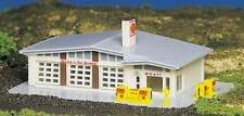 BACHMANN GAS STATION  BUILT-UP BUILDING N SCALE