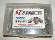 TRAXXAS T-MAXX 3.3 RTR RC SCREWZ SCREW SET STAINLESS STEEL TRA016