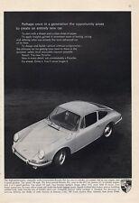 1966 Porsche 911 148hp PRINT AD