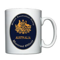 Royal Australian Navy - Warrant Officer - Personalised Mug / Cup