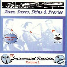 Axes, saxes, skins & ivories - 25 instrumentale HITS CD