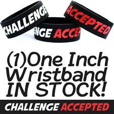 Challenge Accepted Wristand Barney Inspired Bracelet How I Met Your Mother Band