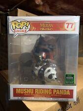 FUNKO POP! Mushu Riding Panda Mulan Disney 2020 Spring Convention 6 Inch