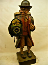 Vintage German Black Forest Karl Griesbaum Clockwork Automaton  Whistler