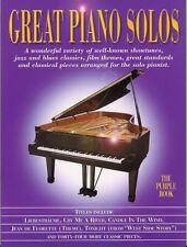 Partitions musicales et livres de chansons contemporains intermédiaires pour piano