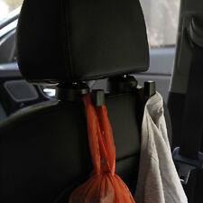 2pc Auto Kopfstütze Haken Kfz Kleiderbügel Kleiderhalter Spitzhaken Kleiderhaken