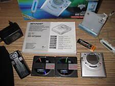 Sharp MT 866 MD Minidisc silber. . Gehäuse Top  (634) + MD + Karton + AL + NE