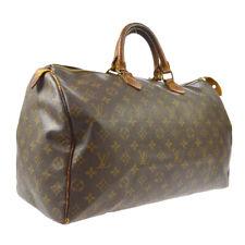 LOUIS VUITTON SPEEDY 40 HAND BAG MONOGRAM PURSE ap VINTAGE M41522 821SA A50847
