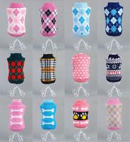 Pet Dog Clothes  Winter Knitwear Jumper Sweater Puppy Warm Coat Costume Apparel