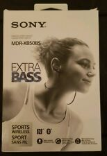 Sony Extra Bass Bluetooth Headphones, MDRXB50BS Wireless Sports Earbuds with Mic