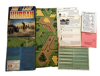 Avalon Hill Squad Leader Last Hurrah, The Box Fair Unpunched (Missing One Board)