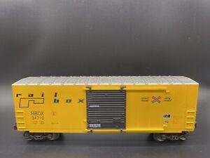 LIONEL - RAILBOX HI-CUBE BOX CAR (6-36273) O Scale