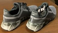 Reebok FLASHFILM Trainer Men's Training Sneakers Shoes Grey / Black NEW SZ 12