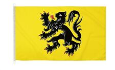 DuraFlag  Flanders Lion Belgium 5ft x 3ft Flag with Clips And Hooks