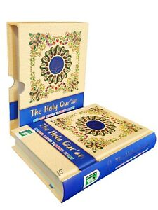 The Holy Quran: Colour Coded Tajweed Rules & Manzils (With Box - HB - IBS - A5)